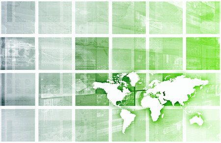 Industry Trends or Business Trending of Data Stock Photo - 26051571