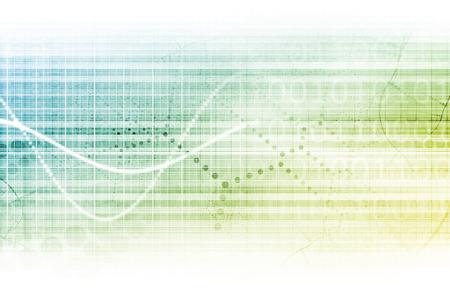 Online Research Konzept auf Daten auf der ganzen Welt