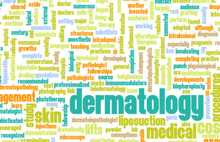 Dermatology Medical Study of Skin and Diseases photo
