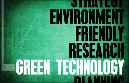 PRINCIPLES: Green Technology Core Principles as a Concept Stock Photo