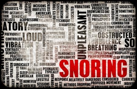 apnoe: Schnarchen oder Apnoe als l�stige Schlaf Trait