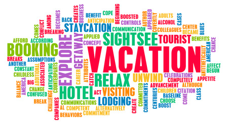 Vacation Concept and Preparation as a Background photo