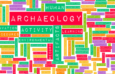 archaeology: Archaeology Dig and Fun Exploration as Concept