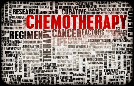 terminology: Chemotherapy as a Medical Concept with Side Effects Stock Photo