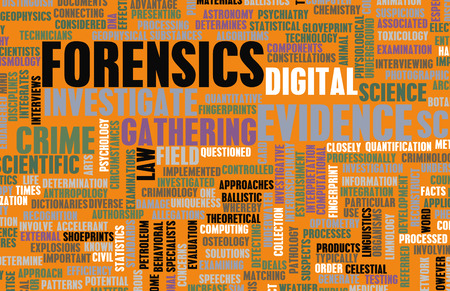 Forensics or Forensic Science as a Concept 版權商用圖片 - 27414808