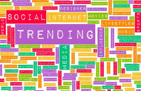 Trending Online and Digital Business News Art photo