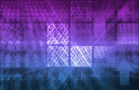 computer program: Binary Code Background as a Art Concept