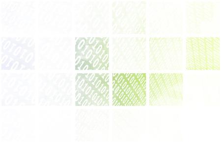 Binary Data Stream with Arrows on Digital Abstract Stock Photo