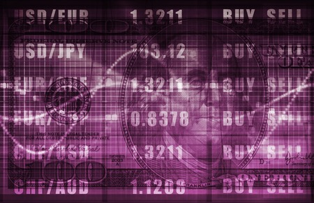 insider information: Investment Portfolio Art as a Abstract Background