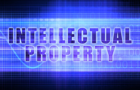 ip: Intellectual Property or IP on a Business Chart