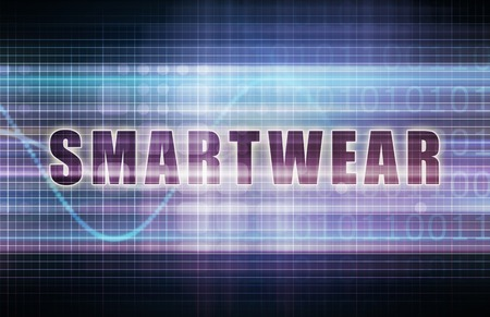Smartwear on a Tech Business Chart Art photo