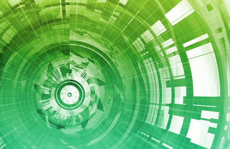 Technology Background Digital Energy as a Art photo