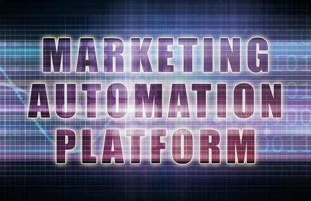 automation: Marketing Automation Platform or MAP on Business Chart