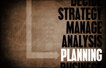 principles: Planning Core Principles as a Concept Abstract Stock Photo