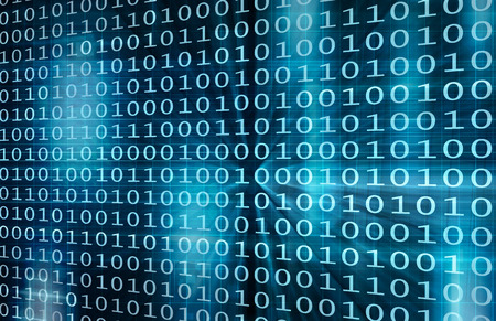 Virtuelle Datentechnik mit Backup Information Kunst