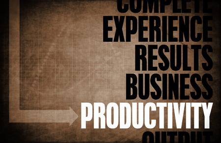 productividad: Productividad Principios Básicos como un concepto abstracto