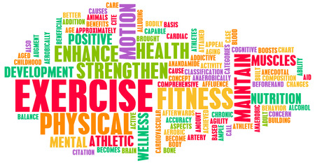 Exercise Concept for Weight Loss and Health photo