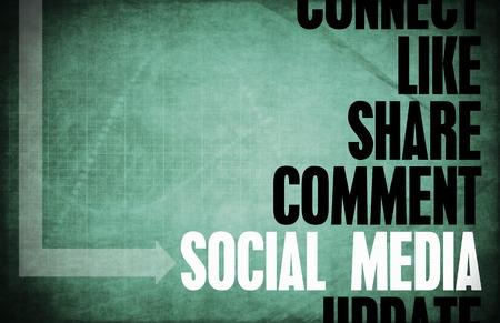 Social Media Core Principles as a Concept photo