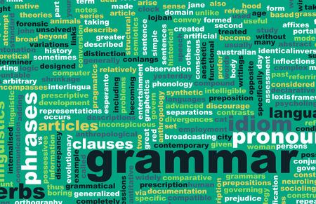 文法学習概念とより良い英語の芸術