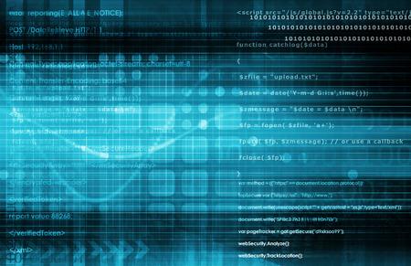 Technology Analytics and Virtual Data Management Art photo