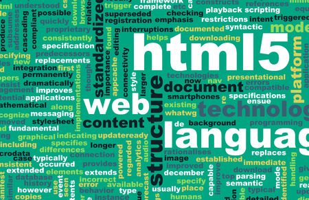 html 5: HTML 5 Web Development Language as Concept