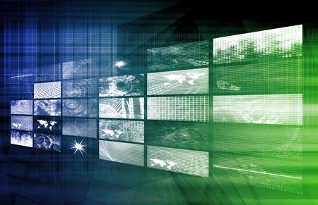 企業のビジネスの芸術のためのデジタル ソリューション