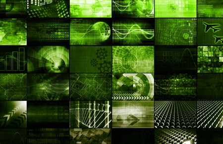 infrastructures: Emerging Technologies Around the World as Art Stock Photo