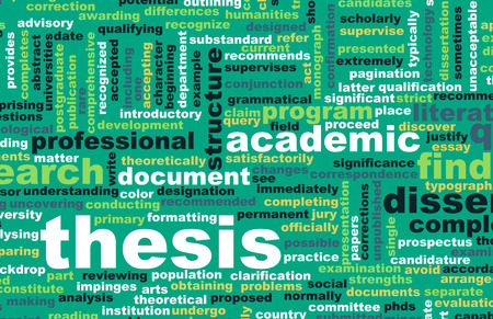 essay: Thesis Paper and Academic Essay as Concept