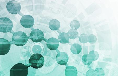 Medical Technology Abstract as a Presentation Concept photo