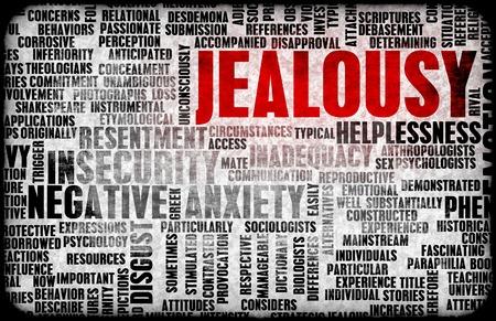 celos: Los celos como una emoci�n negativa Concept Art