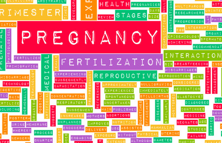 cravings: Pregnancy Concept Preparation of an Expecting Parent Stock Photo