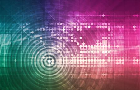 Artifician 知能とニューラル ネットワーク学習システム アート 写真素材