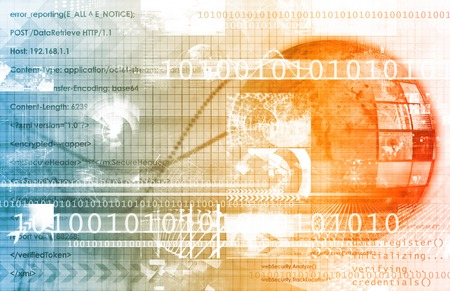 Global Management Technology Process as a Concept photo