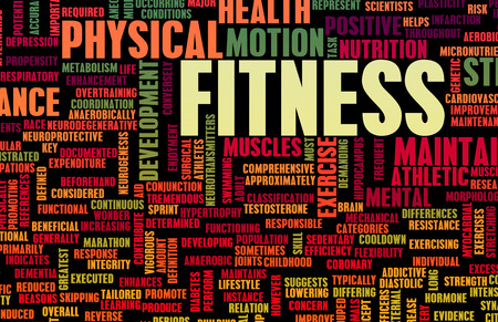 Fitness Concept for Weight Loss and Health photo