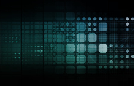 marvel: Abstract Tech Background with Business Technology Art Stock Photo