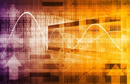 Analyse d'affaires et de la technologie de données en tant que concept