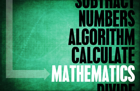 subject: Mathematics as an Arithmetic Subject with Numbers
