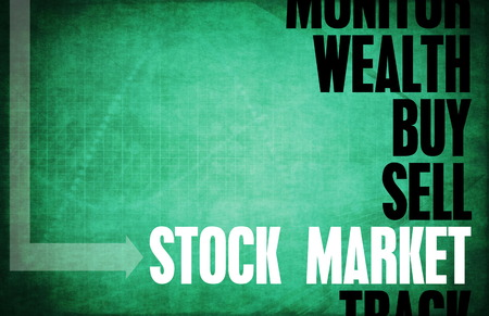 terminology: Stock Market Core Principles as a Concept Abstract Stock Photo