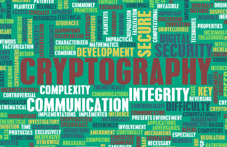 decryption: Cryptography as a Specialized Field of Studies Stock Photo
