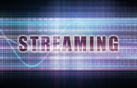 streaming: Streaming on a Tech Business Chart Art