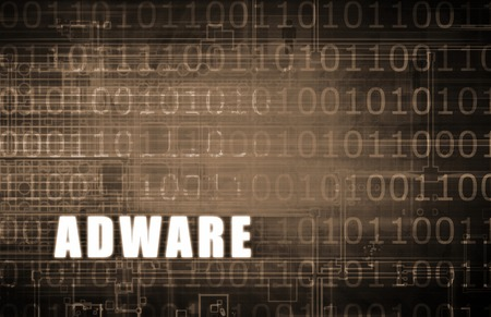 adware: Adware on a Digital Binary Warning Abstract