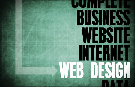 Web Design Core Principles as a Concept Abstract photo