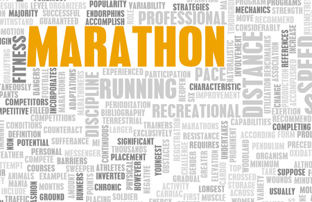 sporting event: Marathon Event for Competition as a Concept