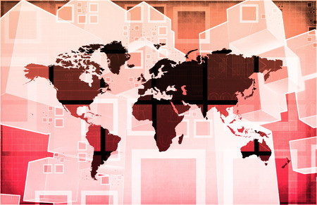 global problem: Crisis Internacional o problema mundial Global como arte