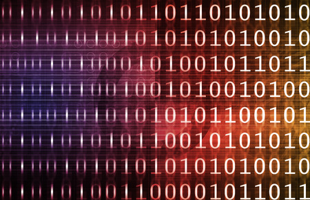 cohesive: Integrated Management System in a Data Network Stock Photo