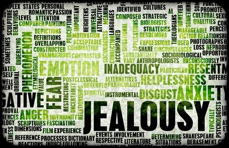 gelosia: La gelosia come Emozione negativa Concept Art