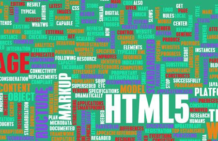 html 5: HTML 5 Web Development Language as Concept