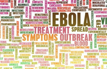 mundo contaminado: Ébola Brotes epidémicos Virus y Arte Crisis