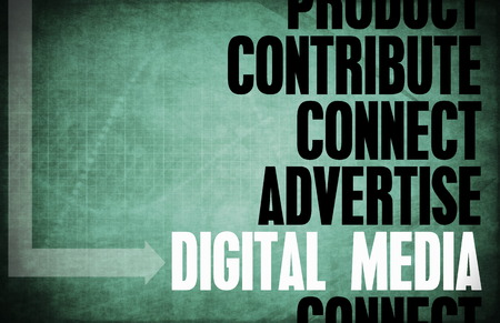 Digital Media Core Principles as a Concept photo