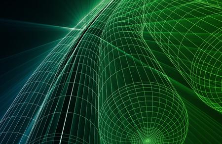 metrics: Abstract Futuristic Circuit Technology Background as Art